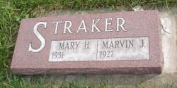 Marvin J Straker