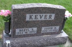Edith H <I>Renfrow</I> Kever