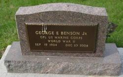 George E Benson, Jr