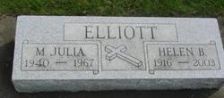 Helen Berniece <I>Ludwig</I> Elliott