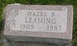Hazel B Leaming