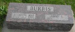 Ruthetta Mae <I>Moore</I> Burris