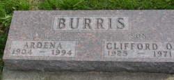 Clifford O Burris