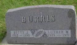 Betty Jean <I>Mains</I> Burris
