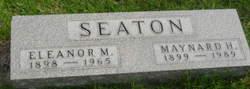 Eleanor M <I>Hopke</I> Seaton