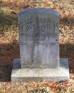Alice Merrill Howland