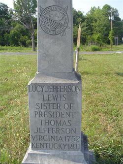 Lucy <I>Jefferson</I> Lewis