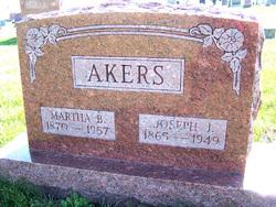 Martha Belle <I>Jones</I> Akers