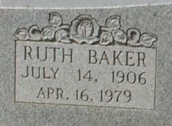 Ruth Pauline <I>Baker</I> Camp