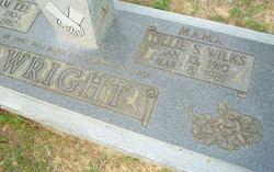 Lillie S. <I>Wilks</I> Wright