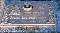 Goldie Izola <I>McDaniel</I> Hall