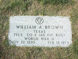 "William Arthur ""Bill"" Brown"