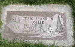 Craig Franklin Ostler