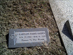 Karenann <I>Harris</I> Baisden
