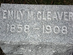 Emily Mary Cleaver