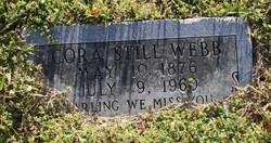 Cora Lee <I>Still</I> Webb