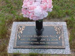 Evelyn <I>Brannan</I> Beck
