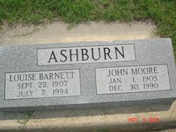 Louise <I>Barnett</I> Ashburn