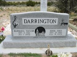 Barbara <I>Taylor</I> Darrington