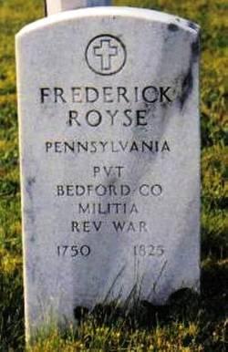 PVT Frederick Royse
