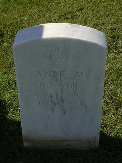 Annie M King