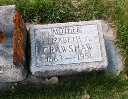Elizabeth Georgina <I>Cook</I> Crawshaw