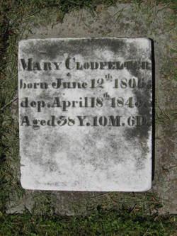 """Maria """"Mary"""" <I>Hartman</I> Clodfelter"""