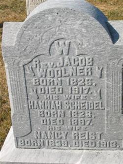 Nancy <I>Reist</I> Woolner