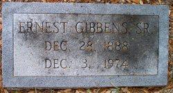 Ernest Gibbens, Sr