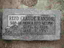 Reed Claude Ransom