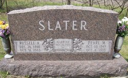 Pearl May <I>Kriner</I> Slater