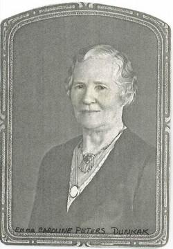 Emma Caroline Christine <I>Peters</I> Dunkak