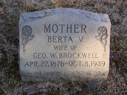Berta V. <I>Strayhorn</I> Brockwell