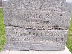 Mary Barbara <I>Ashabrenna</I> Bess