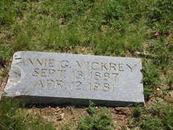 Annie G. Vickrey