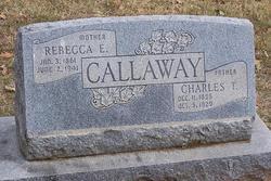 Rebecca Ellen <I>Chipley</I> Callaway