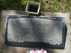 Beatrice <I>Hunt</I> Leavitt