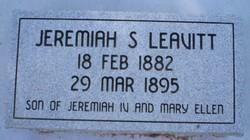 Jeremiah Sturdevant Leavitt