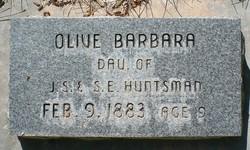 Olive Barbara Huntsman