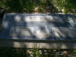 """Anna Parthenia """"Annie"""" <I>Holt</I> Bowler"""