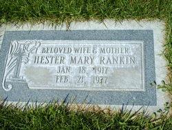 Hester Mary Rankin