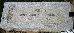 Iona Vern <I>King</I> Brown
