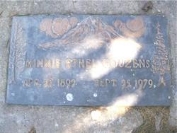 Minnie Ethel Couzens