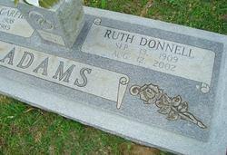 Ruth Virginia <I>Donnell</I> Adams