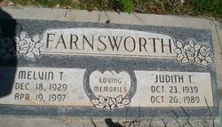 "Judith ""Judy"" <I>Thurston</I> Farnsworth"