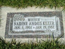 Nadine <I>Andus</I> Kezer