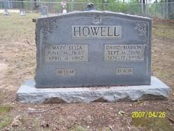 Mary Eliza <I>Armstrong</I> Howell