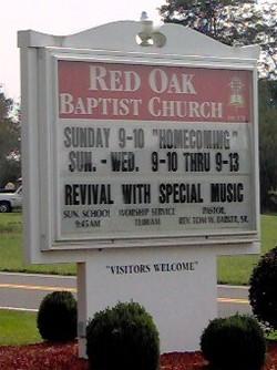 Red Oak Baptist Church Cemetery
