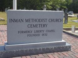 Inman Methodist Church Cemetery