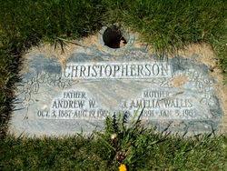 Janet Amelia <I>Wallis</I> Christopherson